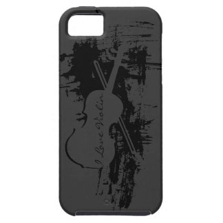 I Love Violin iPhone 5 Cases