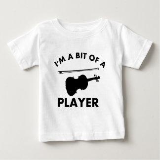 I Love violins Baby T-Shirt
