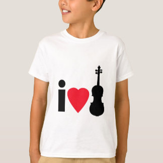 I Love Violins T-Shirt