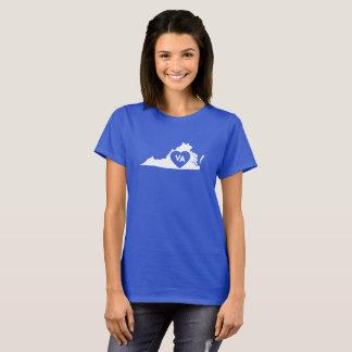 I Love Virginia State Women's Basic T-Shirt