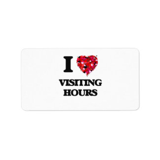 I love Visiting Hours