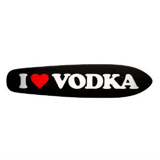 I LOVE VODKA SKATE BOARD DECKS