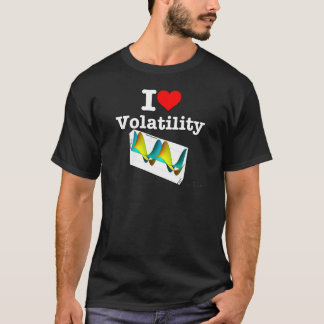 I Love Volatility T-Shirt