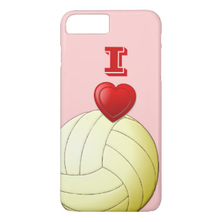 I LOVE VOLLEYBALL iPhone 7 Plus Case