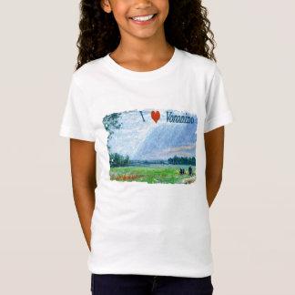 I Love Voronino (a village in Russia) T-Shirt