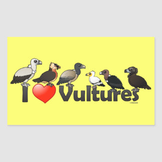 I Love Vultures (Eurasia) Sticker