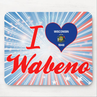 I Love Wabeno, Wisconsin Mouse Pads