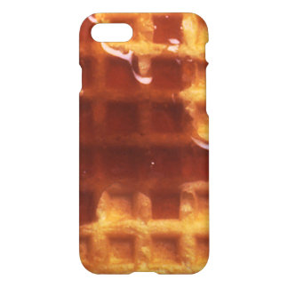 I Love Waffles iPhone 7 Glossy Case