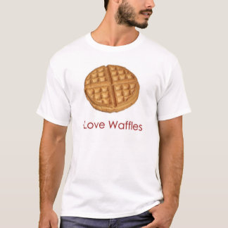 I Love Waffles T-Shirt