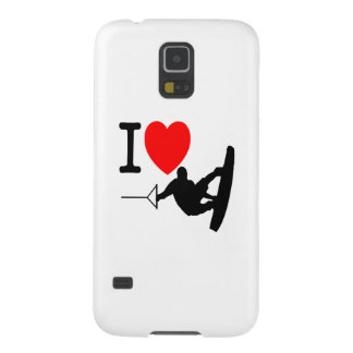 I LOVE WAKEBOARDING GALAXY S5 COVER