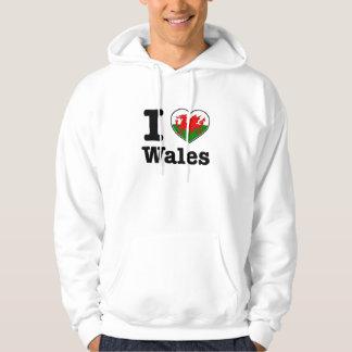 I love Wales Hoodie