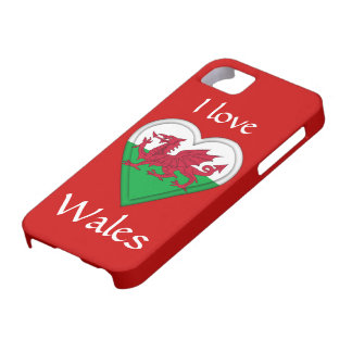 I love Wales iPhone 5 Case