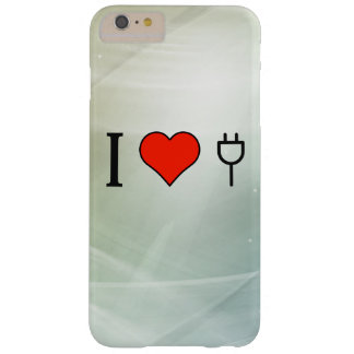 I Love Wall Socket Barely There iPhone 6 Plus Case