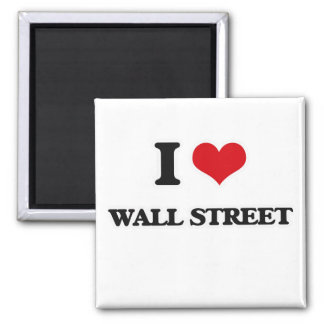 I Love Wall Street Magnet