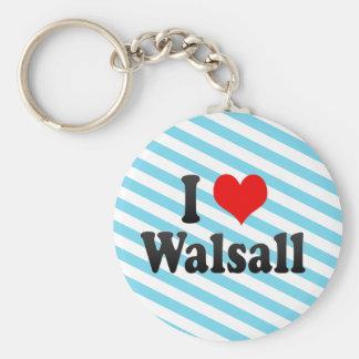 I Love Walsall, United Kingdom Keychain