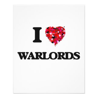 I love Warlords Personalized Flyer