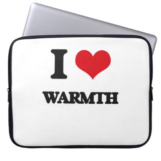 I love Warmth Laptop Sleeves