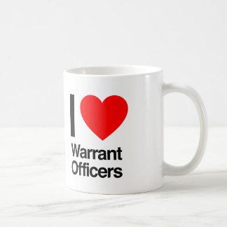 i love warrant officers coffee mug