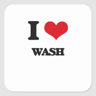 I love Wash Square Sticker