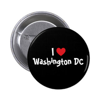 I Love Washington DC 2 Inch Round Button