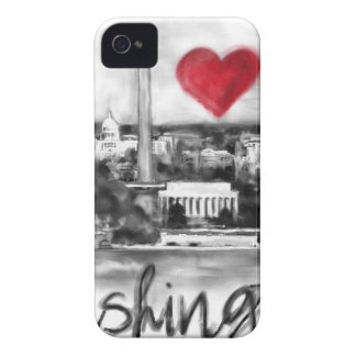 I love Washington iPhone 4 Case-Mate Case