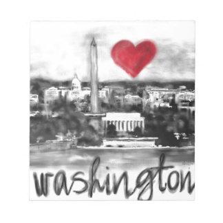 I love Washington Notepad