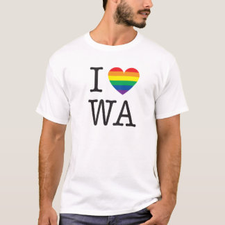 I Love Washington Shirt
