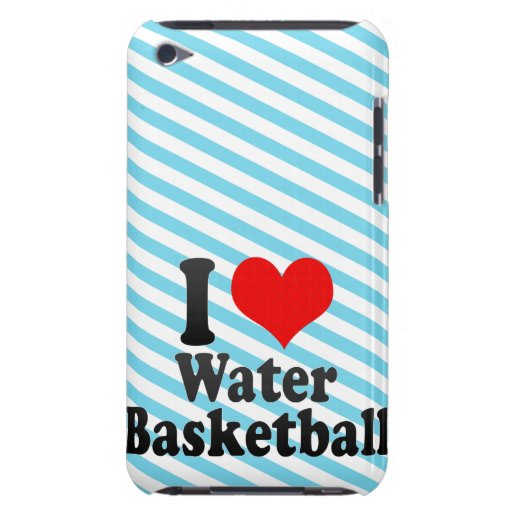 I love Water Basketball Barely There iPod Case