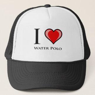 I Love Water Polo Trucker Hat