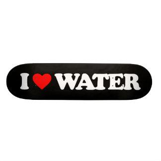 I LOVE WATER SKATE BOARD