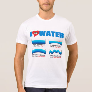 I LOVE WATER Tshirt  |  AllSeeingHeart.org