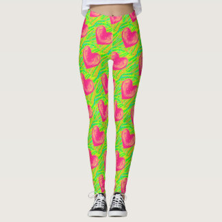 I Love Watermelon Leggings