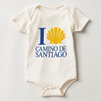 I Love Way of Santiago Baby Bodysuit
