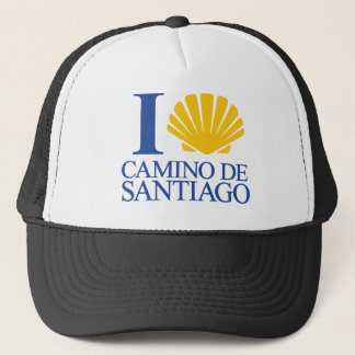 I Love Way of Santiago Trucker Hat