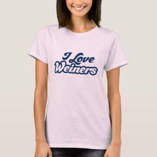 I Love Weiners T-Shirt