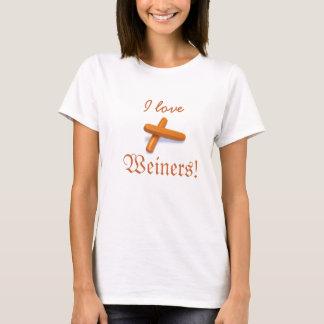 I love Weiners! T-Shirt