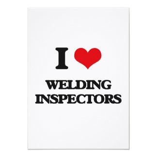 I love Welding Inspectors Custom Invite