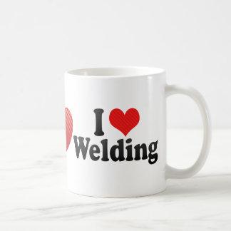 I Love Welding Coffee Mugs