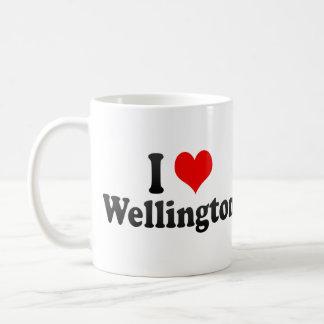 I Love Wellington, New Zealand Coffee Mug