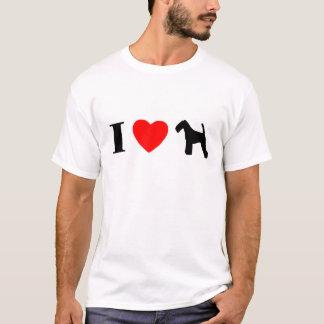 I Love Welsh Terriers T-Shirt