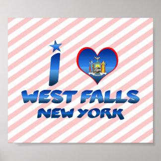 I love West Falls, New York Print