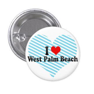 I Love West Palm Beach United States Pins