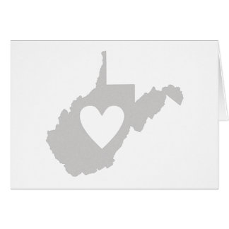 I Love West Virginia Note Card