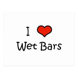 I Love Wet Bars Post Card