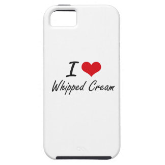 I love Whipped Cream iPhone 5 Cover