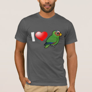 I Love White-fronted Amazons T-Shirt