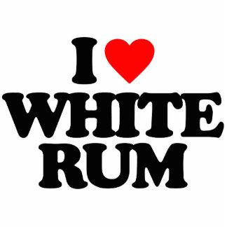 I LOVE WHITE RUM CUT OUT