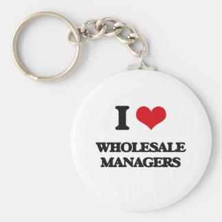 I love Wholesale Managers Keychain