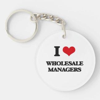I love Wholesale Managers Acrylic Keychain