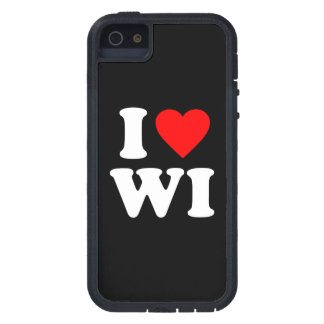 I LOVE WI iPhone 5 COVER